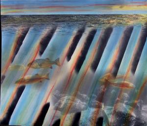 Underwater sunset i s300