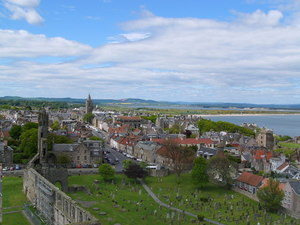 St andrews from regulus tower   geograph.org.uk   254003 s300