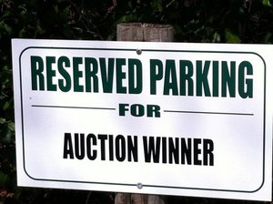 Parking sign s300