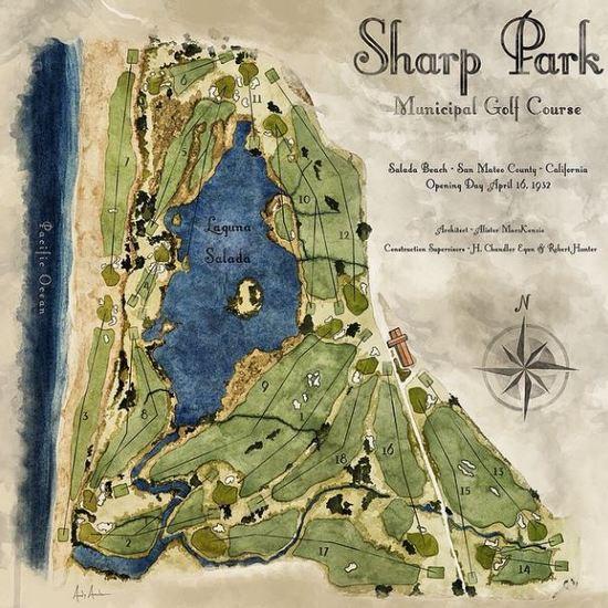 Original sharp park layout s550