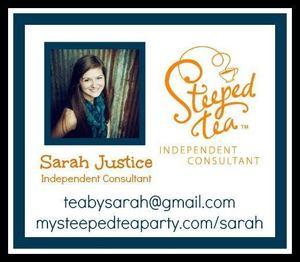 Sarah steeped tea s300