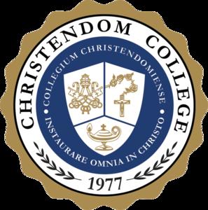 Christendom college seal s300