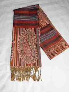 Orange scarf s300