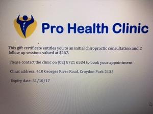 Prohealth clinic s300