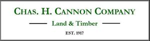Chas h. cannon company land   timber logo s300
