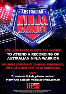 Ninjawarriors invite s2   mary ann   4ppl camping 1  s300